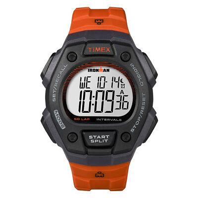 Timex Unisex Ironman Chronograph Resin Digital Orange Watch 5K862