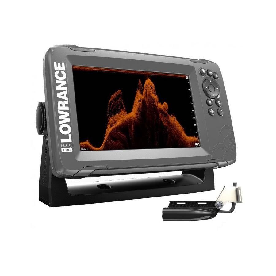 Lowrance HOOK27x con trasduttore SplitShot ecoscandaglio GPS art. 00014020001