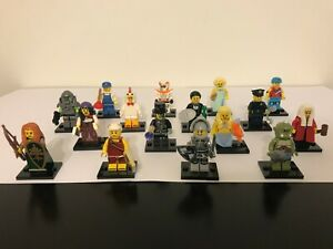 Collectible Minifigure Series 9//10//12 LEGO You Pick /> DEAL! Missing Parts