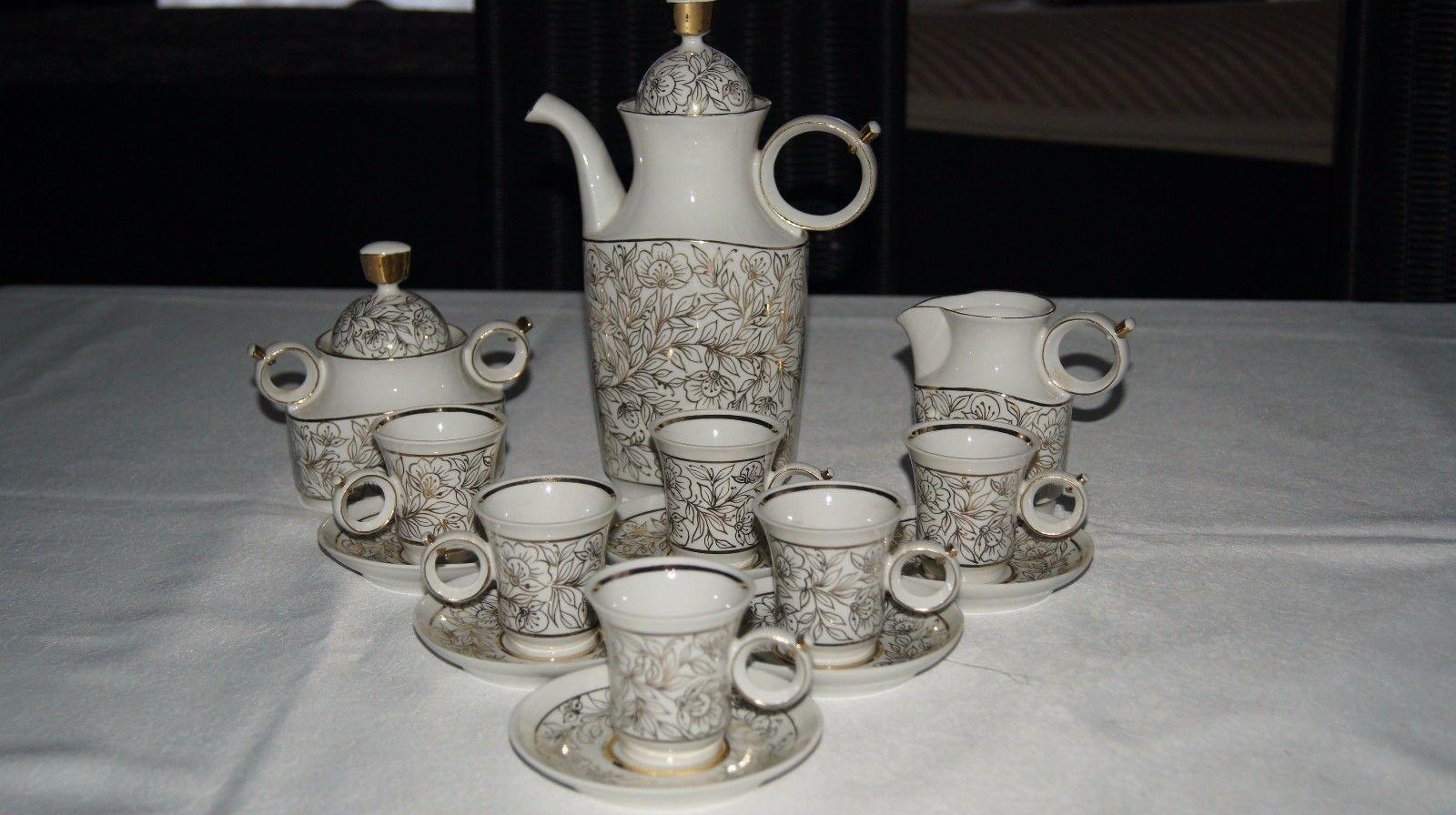 Porzellan Kaffeeservice 15 tlg. für 6 Personen, Autor der Arbeit