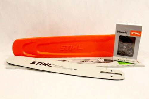 """Stihl Schiene Rollomatic E 45cm 3//8/""""P 1,3mm 3005 000 4817 Schutz Kette Voll"""