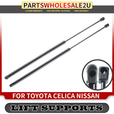 A-Preimum Tailgate Rear Hatch Lift Supports Shock Struts for Toyota Celica T230 2000-2005 with Spoiler 2-PC Set