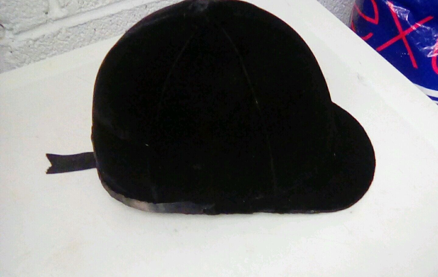 Vintage moss bros riding  hunting hat Covent garden small size