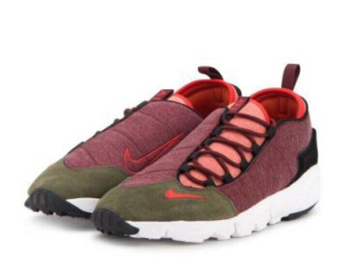 Nike Air Footscape NM in Dragon Red. Brand New