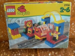 angebot lego duplo bahnhof 2936 komplett mit ovp ebay. Black Bedroom Furniture Sets. Home Design Ideas