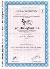 Euro Disneyland  S.C.A  Paris  Disney