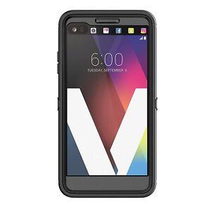 huge discount b4726 063cd Details about OtterBox DEFENDER SERIES Case for LG V20 - BLACK