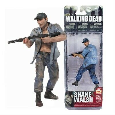 "#NEW Shane Walsh 5/"" Flashback Action Figure McFarlane THE WALKING DEAD"