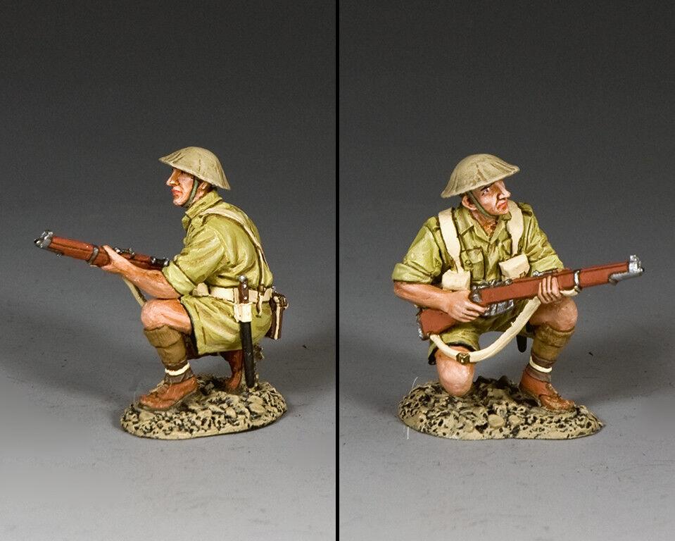 KING AND COUNTRY Kneeling Australian Rifleman EA128