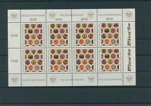 Autriche-Autriche-Vintage-1990-Mi-1990-Neuf-MNH-Feuilles-Miniature-Klbg