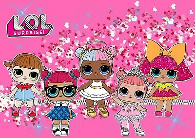 It is a graphic of Adorable Lol Doll Images