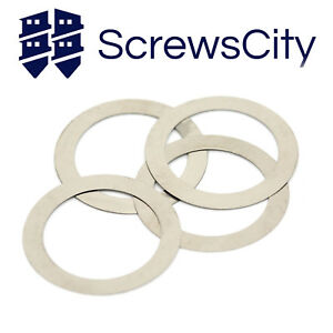 A2-Stainless-Steel-Shim-Washers-Shims-0-1mm-0-2mm-0-5mm-1mm-Thick-DIN-988
