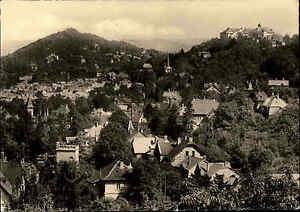 BLANKENBURG-DDR-Partie-Wohnviertel-Villen-1964-s-w-AK-Ansichtskarte-Postkarte