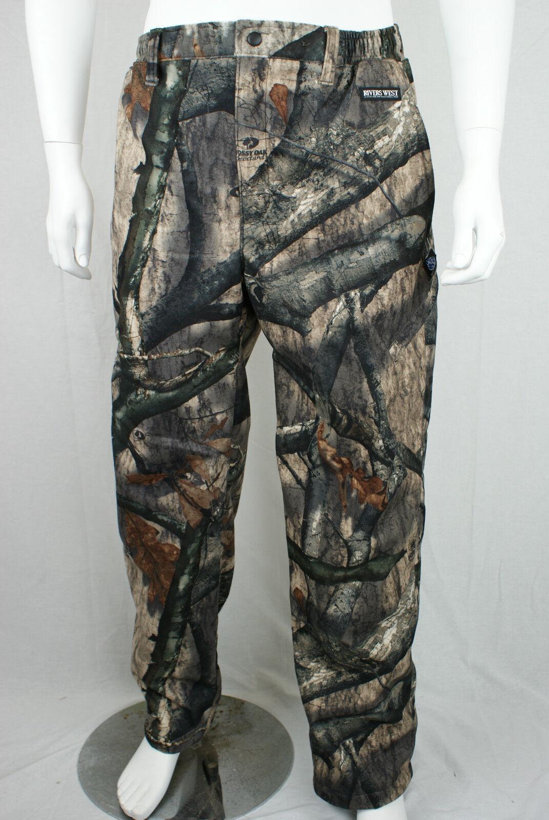Rivers West arrière Country MossyOak Treestand xxl pantalon imperméable de chasse 7C10