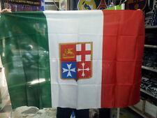 BANDIERA  MARINA Mercantile 150x90cm - BANDIERA ITALIANA NAVALE 90 x 150
