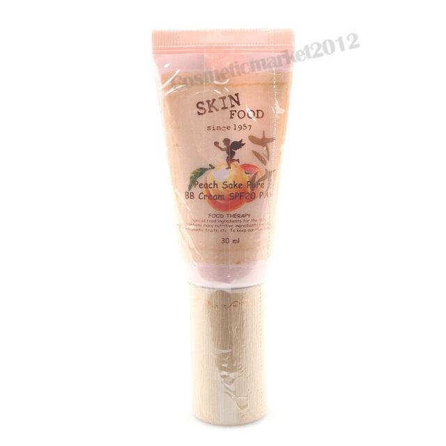 SKINFOOD [Skin Food] Peach Sake Pore BB Cream #1 Light Beige 30ml Free gifts