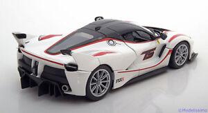Bburago-1-24-Ferrari-FXX-K-White-Diecast-Model-Rcing-Car-Vehicle-Toy-New-In-Box