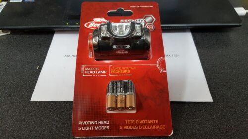 1 Nouveau fil Berkley Angler\'s Head Lampe Avec Piles Duracell livraison gratuite