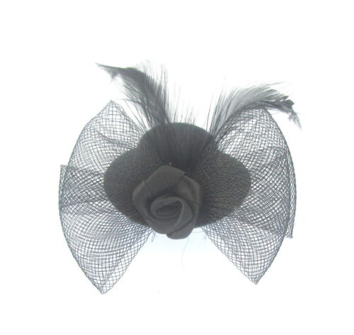 Dinky mini little hat fascinator on a clip 3 styles available