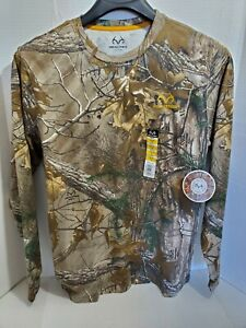 Reeltree Mens Med Long Sleeve Camo Hunting Shirt New With Tags