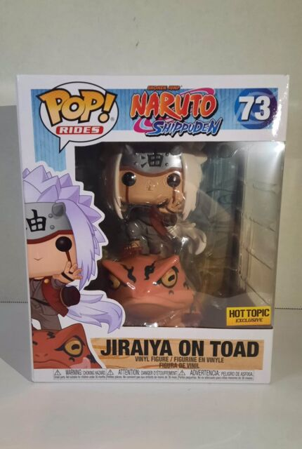 FUNKO POP! RIDES NARUTO SHIPPUDEN #73 JIRAIYA ON TOAD HOT TOPIC EXCLUSIVE