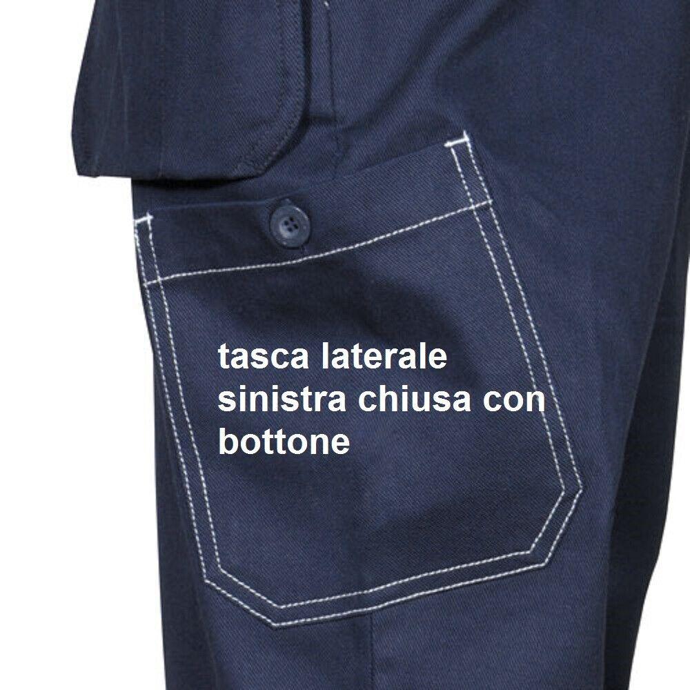 Immagine 3 - Pantaloni da lavoro COFRA modello ZIMBABWE 100% cotone 270 g/m² con ginocchiere