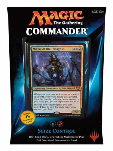 Commander 2015 Deck Seize Control FACTORY SEALED NEW MAGIC ABUGames ENGLISH