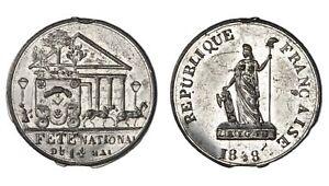 FRANCIA-DEUXIEME-REPUBLIQUE-Fete-National-du-14-Mai-1848