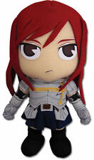 "NEW AUTHENTIC Fairy Tail Plush Doll - 7.5"" Erza (GE-6970) OFFICIAL stuffed toy"