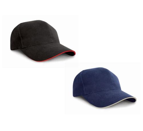Hochwertige Contrast Baseball Cap Basecap Heavy Cotton Pro Style