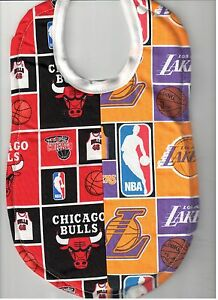 035a192db Image is loading Handmade-House-Divided-Baby-Bibs-made-with-NBA-