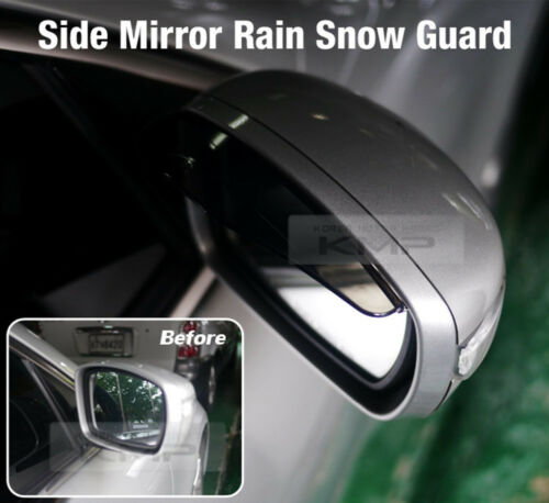 Side Mirror Rain Snow Visor Guard Cover For KIA 06-18 Cee/'D //GT //Sports Wagon