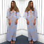 US-Women-Boho-Floral-Long-Maxi-Dress-Evening-Party-Beach-Dresses-Summer-Sundress thumbnail 76
