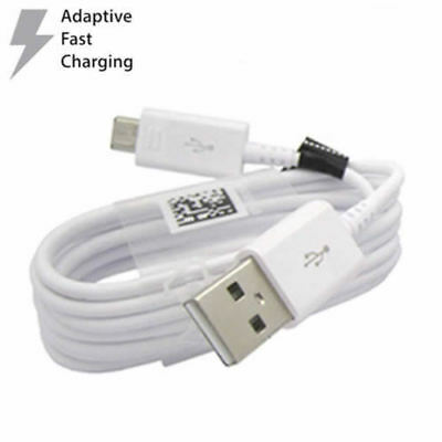 ORIGINAL SAMSUNG Fast Wall Charger Micro USB Cable For Note 4 5 S4 S6 S7 Edge +