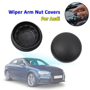 Rear Windshield Wiper Arm Washer Cover Cap Nut For Audi A1 A3 8P A4 A6 Q3 Q5 B8