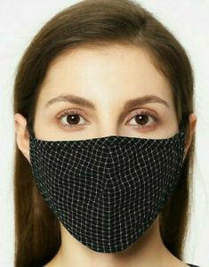 🇫🇷 Masque de Protection Lavable Noir Abri