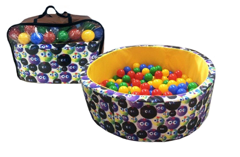 Bällebad Becken mit Bällen Kinderspielzeug Spielbecken für das Kinderzimmer