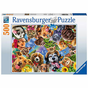 Ravensburger: Animal Selfies 500 Piece Puzzle *BRAND NEW*