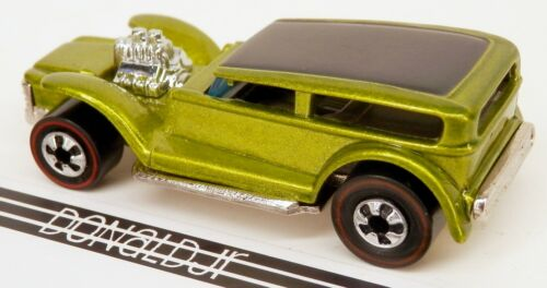 """Details about  /Hot Wheels /""""25th Anniversary/"""" The Demon Green Redline 1//64 Scale Custom Show Car"""