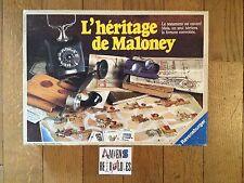 L'héritage de Maloney (jeu de société COMPLET) RAVENSBURGER 1988 Francais
