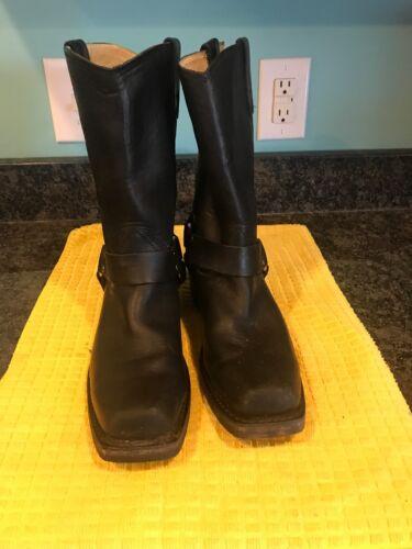 Motorcycle Boots Bottes very avec mHarness moto Durango9 9m harnais Toe cuir de Good pour femmes noir sqr 8O0knPwX