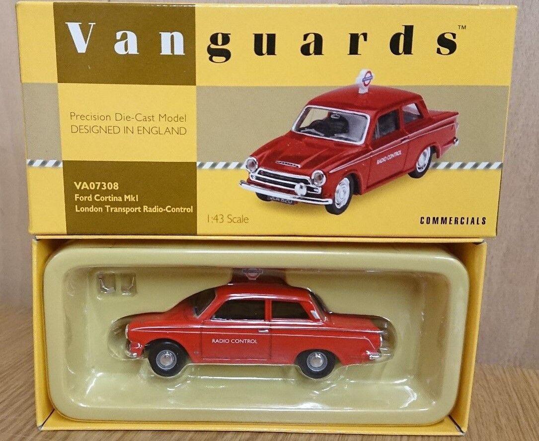 Corgi VA07308 Ford Cortina MkI London Transport RC Ltd Edition No. 1200 of 1200