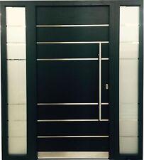 Haustür WeltHaus WH75 Aluminium mitt Kunststoff Tür LA111 türen +2 Seintentel