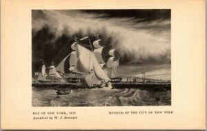 Vintage-Postcard-Bay-Of-New-York-By-Bennett-Museum-Of-New-York-City-Unposted