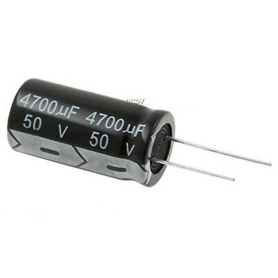10PCS 820uF 50V 820MFD 50Volt Electrolytic Capacitor 13mm×25mm Radial
