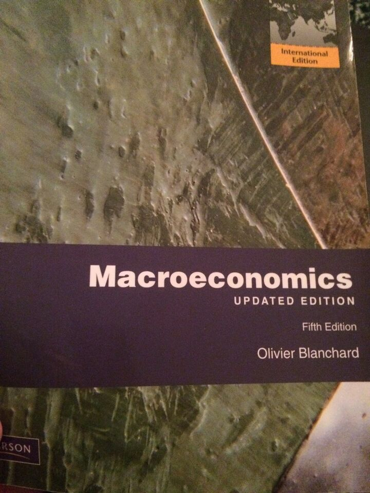 Macroeconomics, Olivier Blanchard, Fight Efition udgave