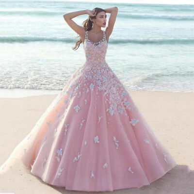 Pink Ball Gown Quinceanera Dress Prom Dress Sweet 16 Dresses Formal Party Gown Ebay