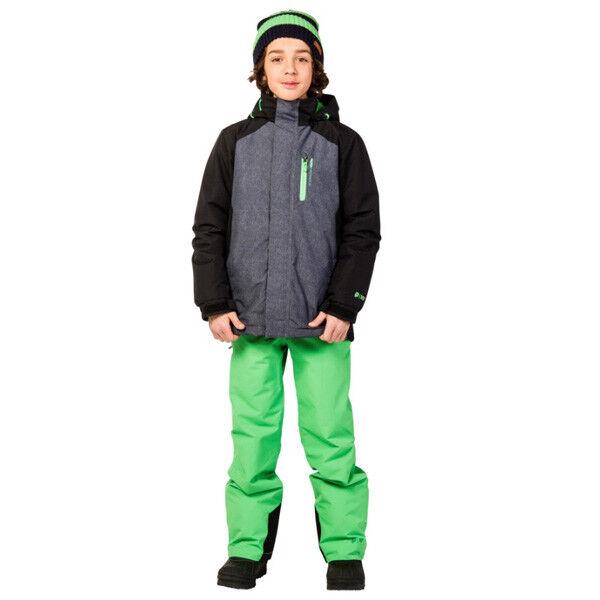 Protest Midi Ski Snowboard Kinder Winter Jacke grau schwarz NEU 2018
