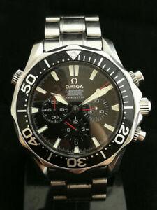 RELOJ-Omega-Seamaster-America-039-s-Cup-2594-52-00-1-YEAR-WARRANTY