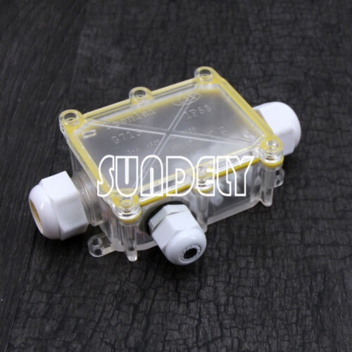2-6 Way Outdoor Waterproof IP68 Cable Connector Junction Box 240v UK Mains